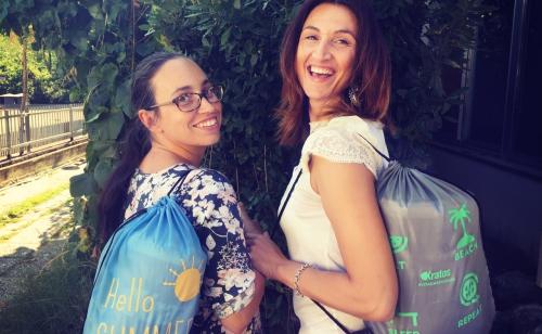 Dagli articoli promozionali a Narnia. Il viaggio quotidiano di Tatiana e Romina