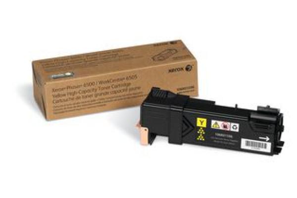 106R01596 cartuccia orig. xerox phaser 6500 WC 6505 giallo 2,5 K