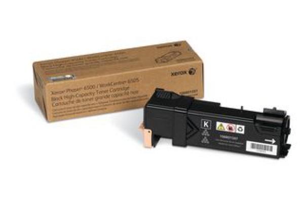106R01597 cartuccia orig. xerox phaser 6500 WC 6505 nero 3 K