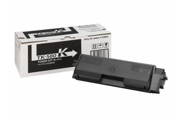1T02KT0NL0 toner orig. kyocera FS-C5150DN nero (TK-580K) 3,5 K
