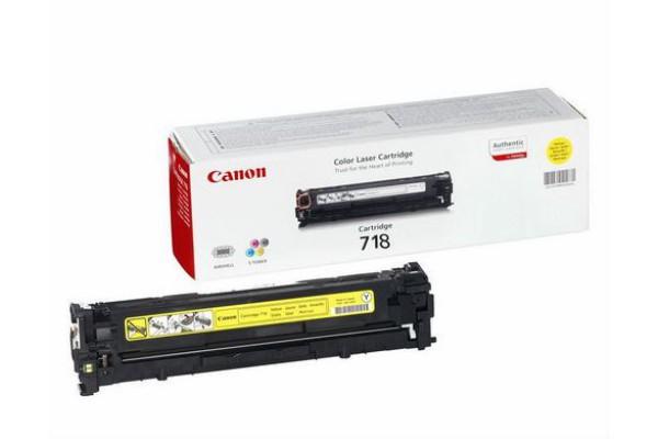 2659B002 cart.orig. 718Y Canon LBP 7200 giallo 2,9 K