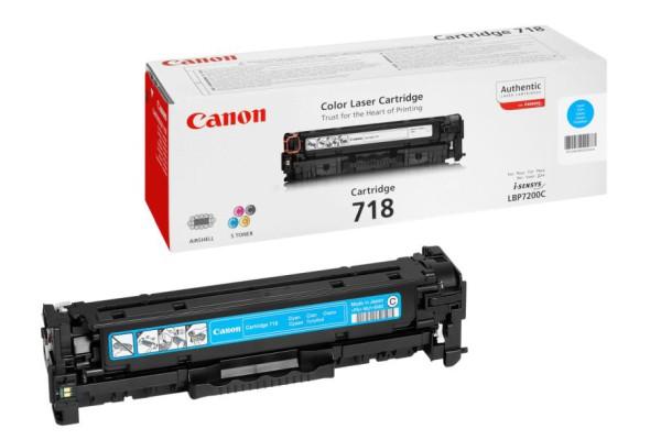 2661B002 cart.orig. 718C Canon LBP 7200 ciano 2,9 K