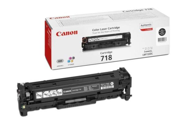 2662B002 cart.orig. 718BK Canon LBP 7200 nero 3,4 K