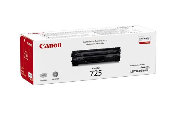 3484B002 cart.orig. CRG-725 Canon LBP 6000 nero 1,6 K