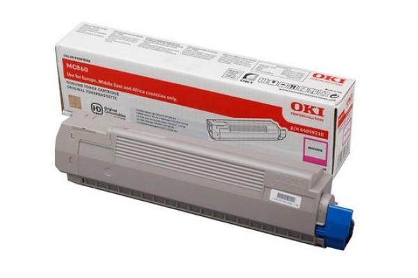 44059210 toner orig. Oki MC 860 magenta 10 K