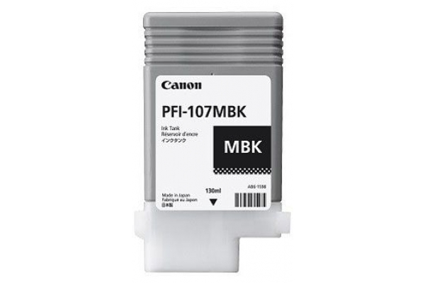 6704B001AA cart. orig. canon PFI-107MBK nero opaco