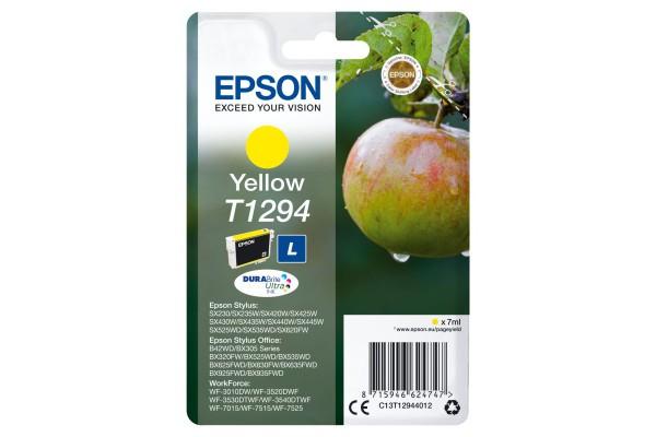 C13T12944012 cartuccia orig. epson stylus office BX305F 320FW SX420 giallo