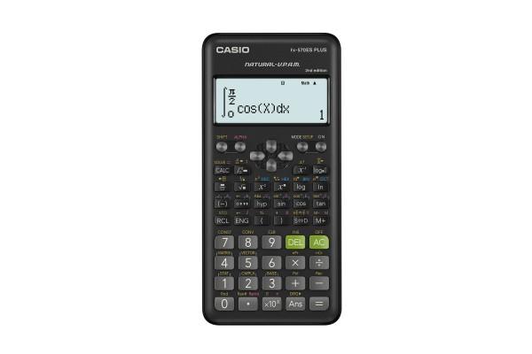 Calcolatrice scientifica FX-570ESPLUS - 162x80x13,8 mm - 417 funzioni - Casio