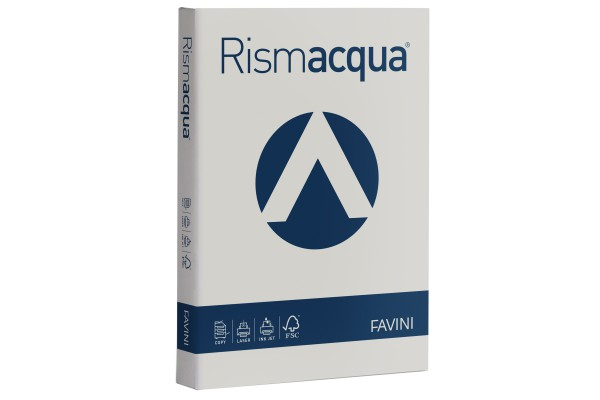 Carta Rismacqua - A4 - 140 gr - ghiaccio 12 - Favini - conf. 200 fogli