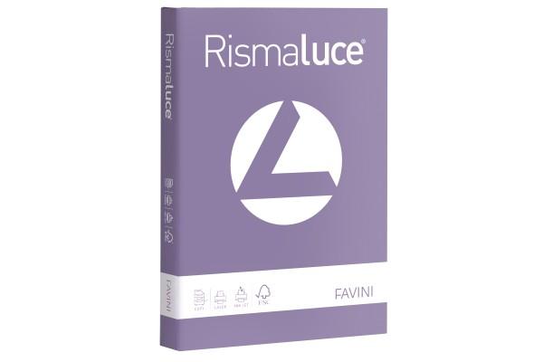 Carta Rismaluce - A4 - 200 gr - viola 49 - Favini - conf. 125 fogli