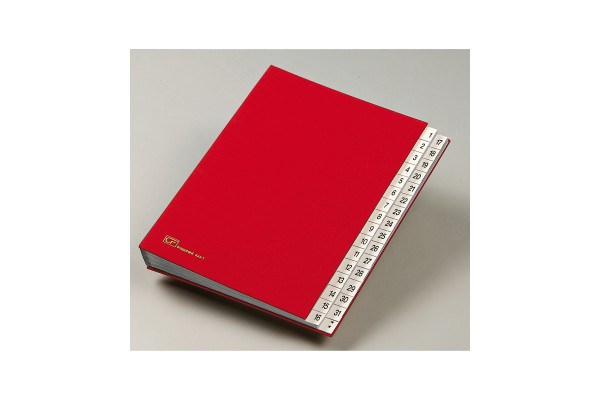 Classificatore numerico 1/31 - 643D - 24x34 cm - blu - Fraschini
