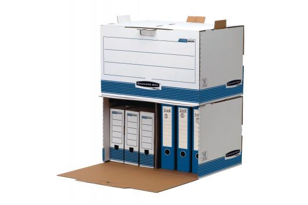 Contenitore archivio System Bankers Box