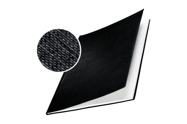 Copertine Impressbind - rigide - 7 mm - finitura lino - nero - Leitz - scatola 10 pezzi