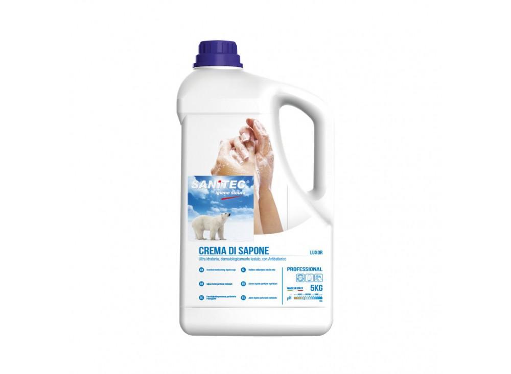 Crema di sapone per il corpo Luxor Sanitec - kg 5