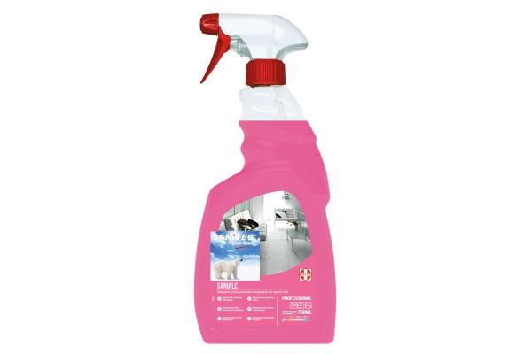 Detergente asciugarapido Sanialc Sanitec