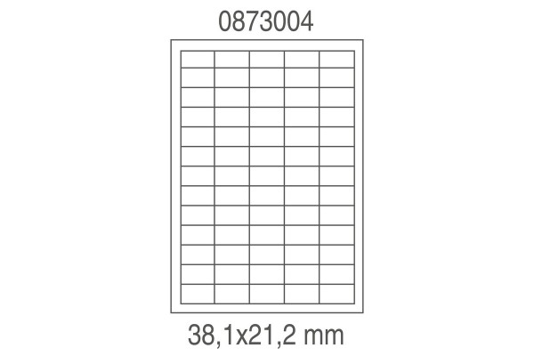 Etichette in poliestere trasparente