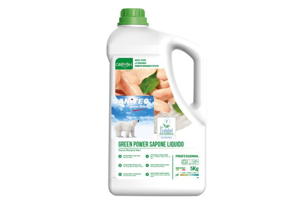 Green Power Sapone liquido Sanitec