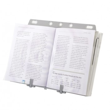 Leggio Booklift™ - formati A4/A3 - silver - Fellowes