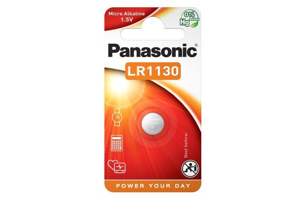 Micropila LR1130 - 1,5V - a pastiglia - Panasonic