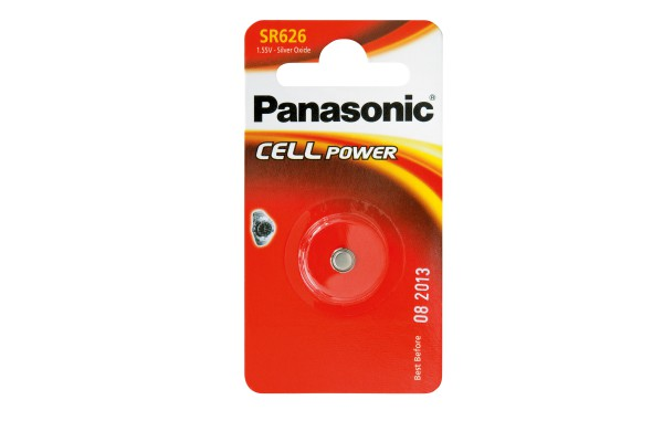 Micropila SR626 - ossido argento - Panasonic - blister 1 pezzo