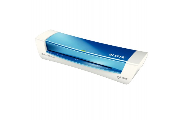 Plastificatrice ILam HomeOffice - A4 - blu metal - Leitz