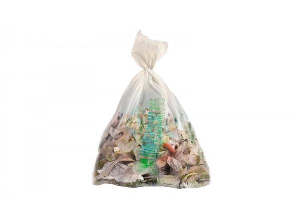 Sacchi rifiuti biodegradabili