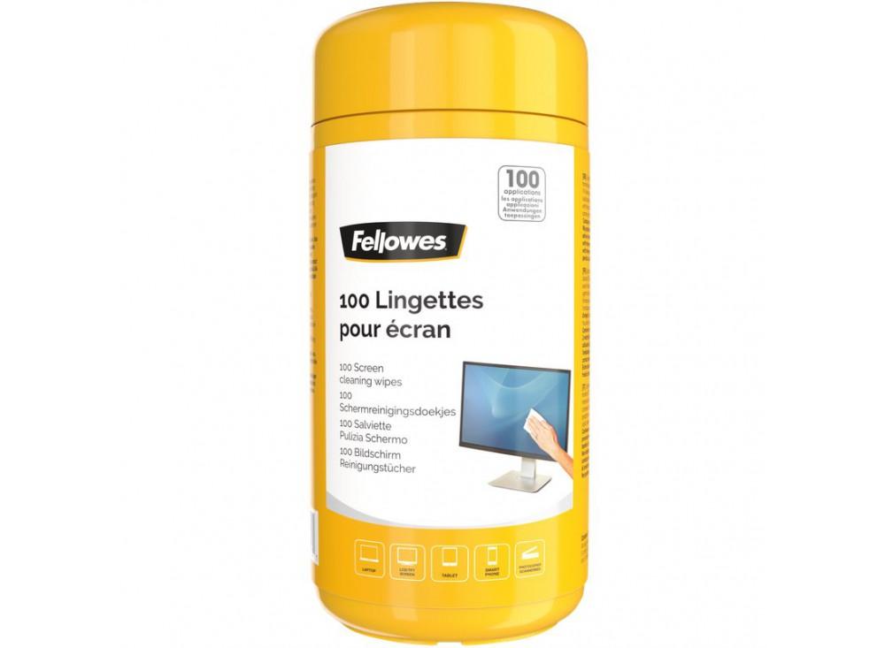 Salviettine detergenti per schermi Fellowes