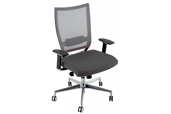 Seduta executive Elite Concept XXL con schienale in rete