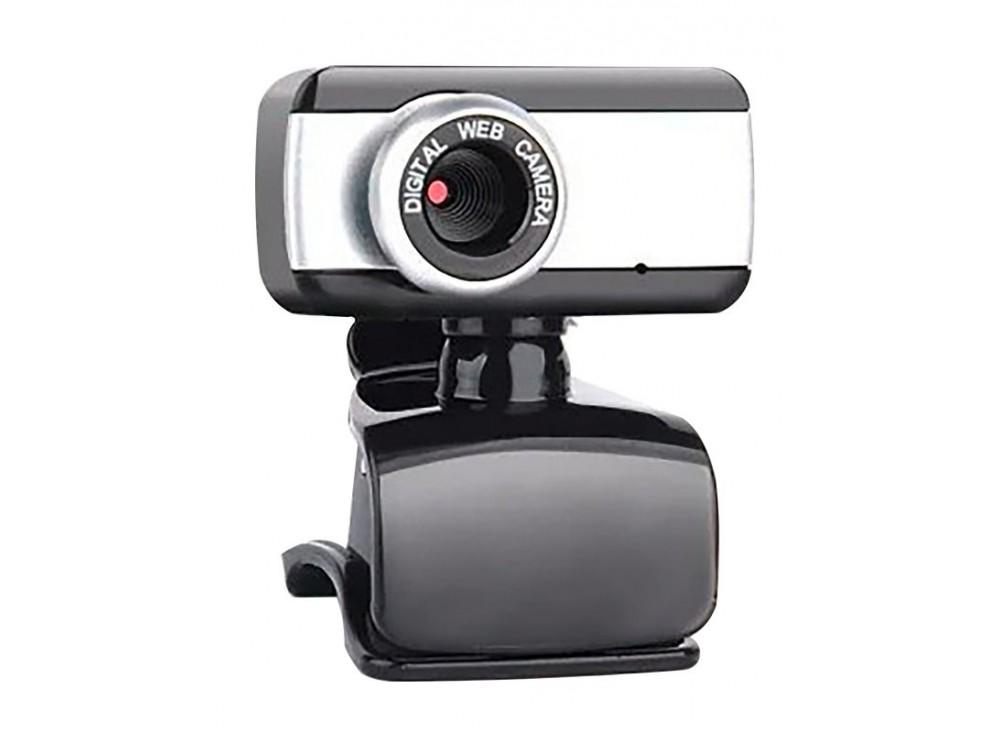 Stream webcam con microfono