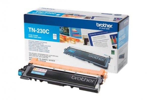 TN-230C toner orig.brother HL 3070 MFC 9120 ciano 1,4 K