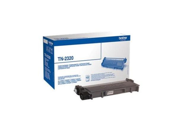TN-2320 toner orig.brother DCP L2500 L2540 HL L2340 L2360 MFC L2700 nero 2,6 K